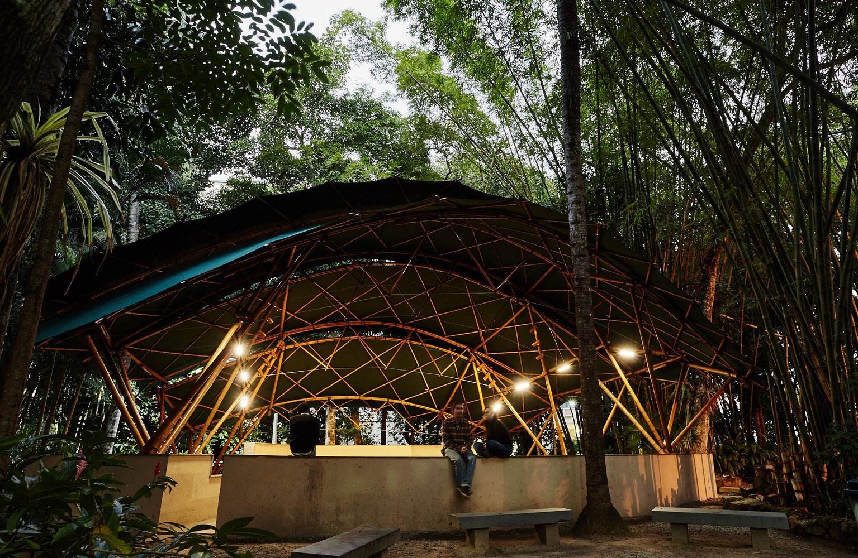 سالن آمفی تئاتر بامبو در برزیل