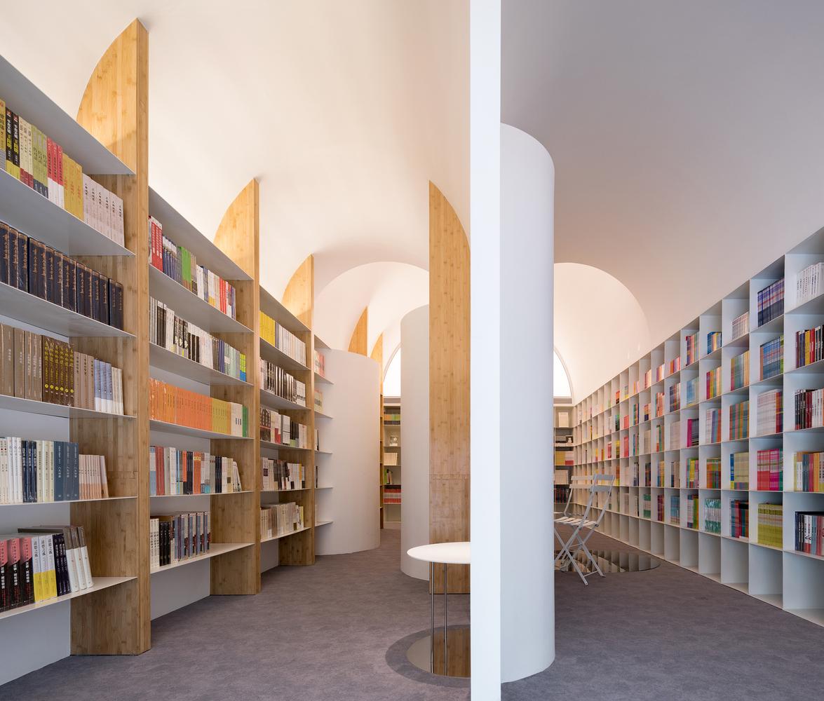 طراحی کافه کتاب لانگشنگ