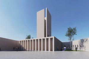 طرح پیشنهادی مسجد و میدان (پلازا) گلشهر توسط استودیو صفار