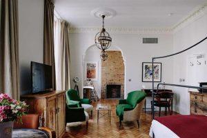 بوتیک هتل هنرمند در لندن؛ لذت اقامت در فضایی هنری