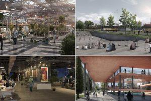 """طرح پیشنهادی """"طراحی پارک باغشمال تبریز"""" توسط دفتر معماری حاجی زاده و همکاران"""