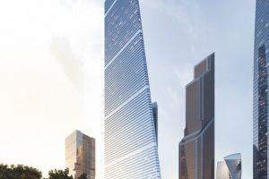 آغاز ساخت آسمان خراش مسکونی چند منظوره مسکو