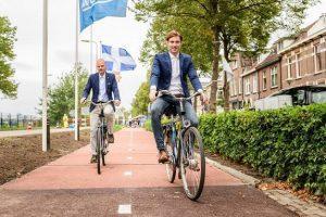 رونمایی از اولین مسیر دوچرخه سواری ساخته شده از مواد پلاستیکی بازیافتی در هلند