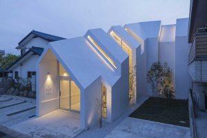 طراحی کلینیک آساهیکو با تاثیرپذیری از خانه های سنتی ژاپن