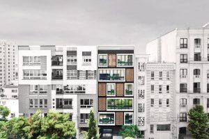 طراحی ساختمان مسکونی شماره 135 تهران