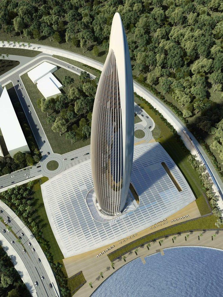 شروع ساخت و ساز بلندترین آسمان خراش آفریقا