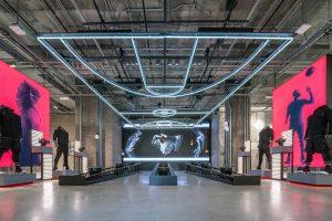 بروتالیسم ؛ طراحی داخلی فروشگاه آدیداس در نیویورک