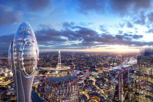 نورمن فاستر 83 ساله همچنان بی نظیر است ؛ برج گل لاله لندن
