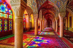 تجلی نور در خانه خدا ؛ مسجد نصیرالملک شیراز
