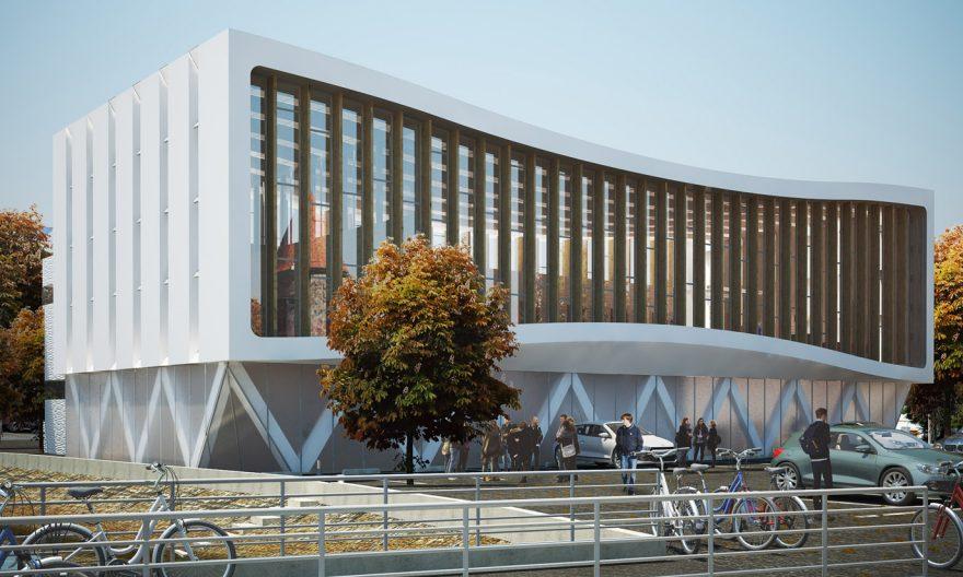 تعامل معماری سنتی و مدرن در طراحی مجموعه ورزشی