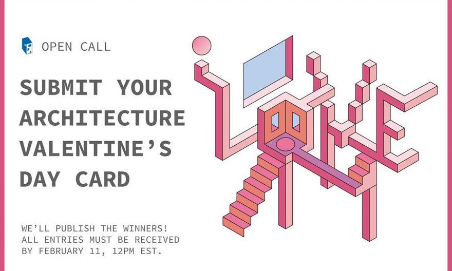 مسابقه بین المللی طراحی کارت روز ولنتاین 2019 با موضوع معماری