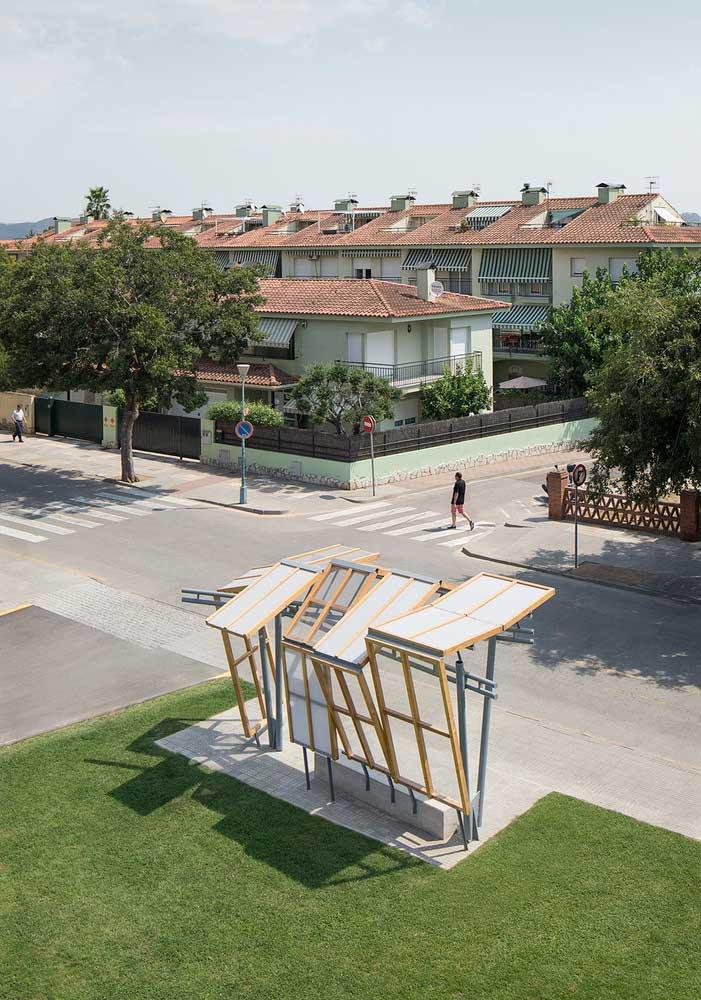 طراحی ایستگاه اتوبوس ؛ ایجاد حس امنیت و زیبایی شبیه به خانه
