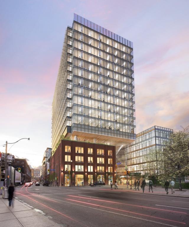 طراحی ساختمان QRC West در شهر تورنتوی کانادا