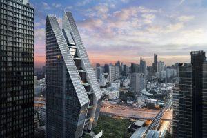 ویلا های آسمان ؛ طراحی هتل رُزوود بانکوک