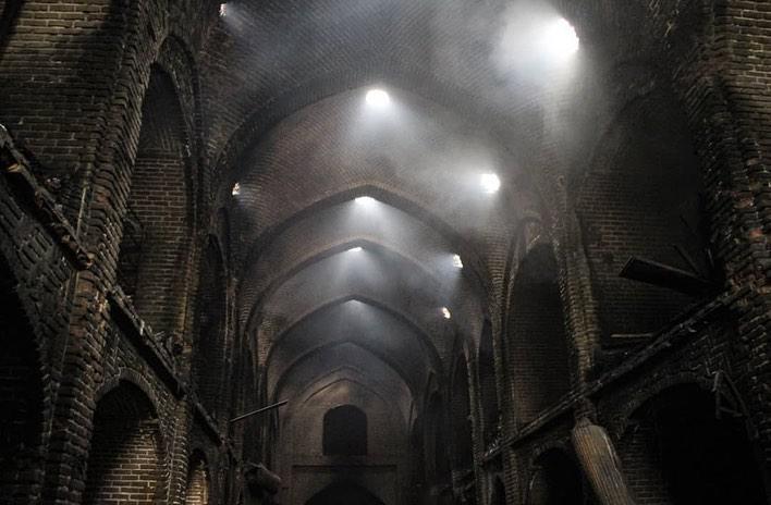 به بهانه آتش سوزی در بازار تبریز