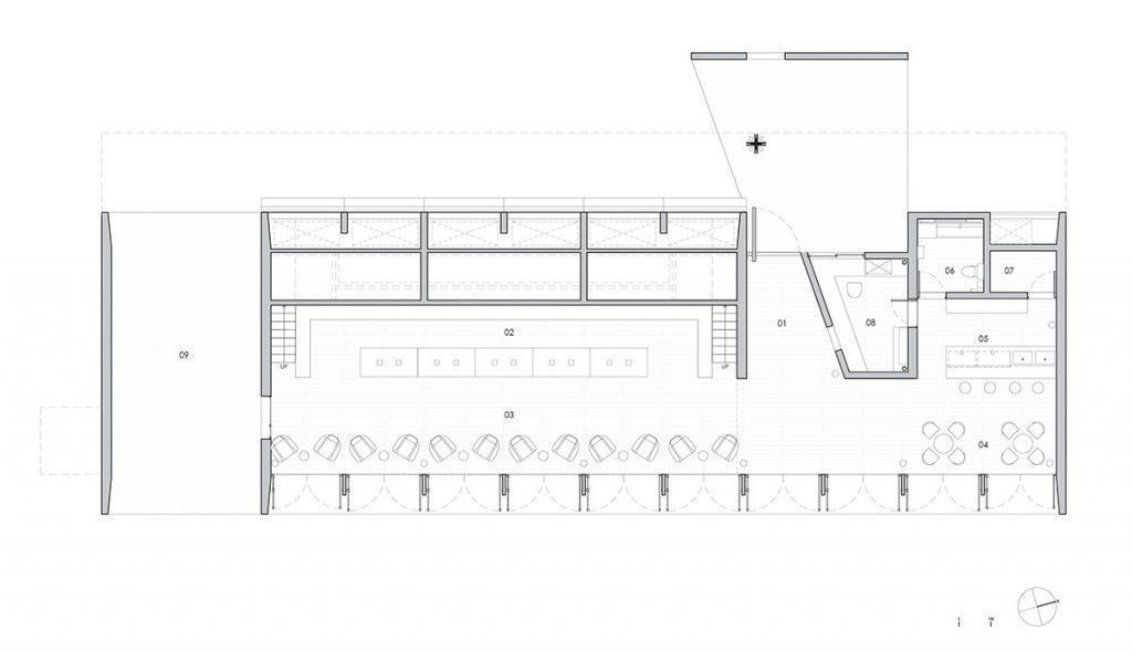 بهره گیری از آب و باد و نور در طراحی کتابخانه Seashore در پکن