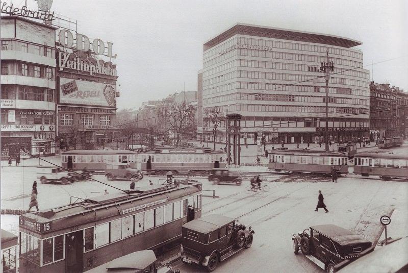 طراحی میدان شهری دوستدار محیط زیست ؛ میدان پوتسدامر برلین