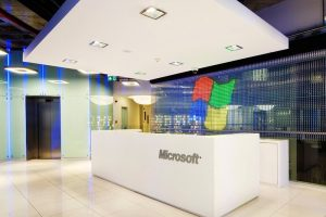 طراحی دفتر کار کمپانی مایکروسافت واقع در شهر استانبول