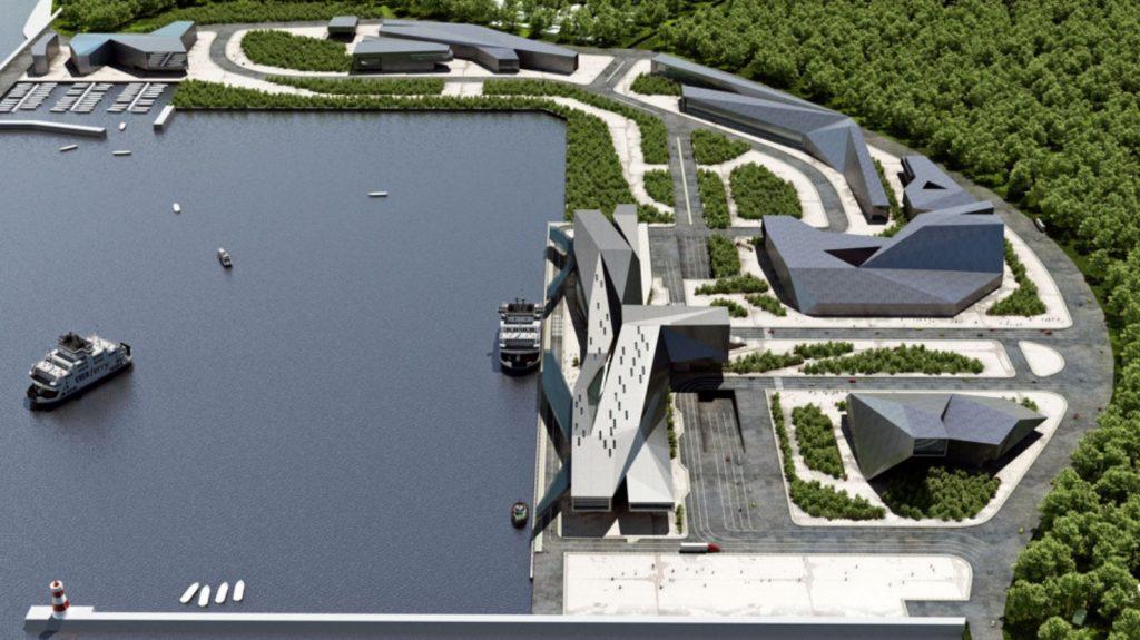 طراحی مرکز خدمات مسافری شهر فوجیان در تایوان