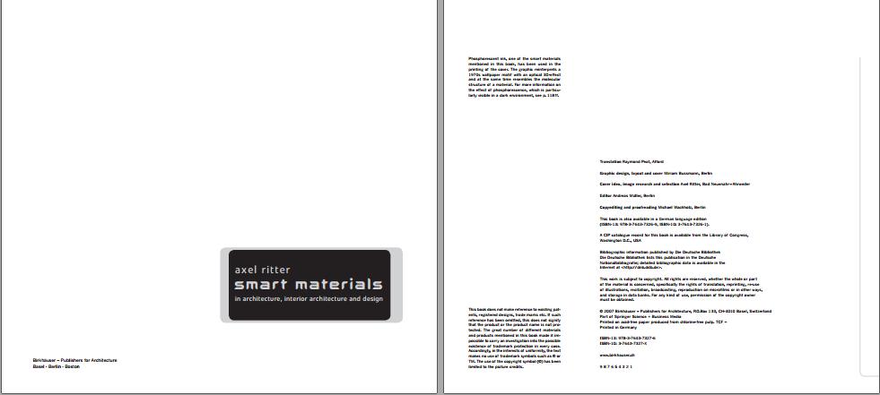 دانلود کتاب Smart Materials in Architecture, Interior Architecture and Design