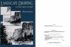 دانلود کتاب Landscape Drawing Step by Step