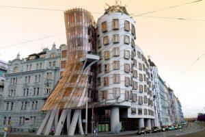 بنایی عجیب در شهر پراگ جمهوری چک