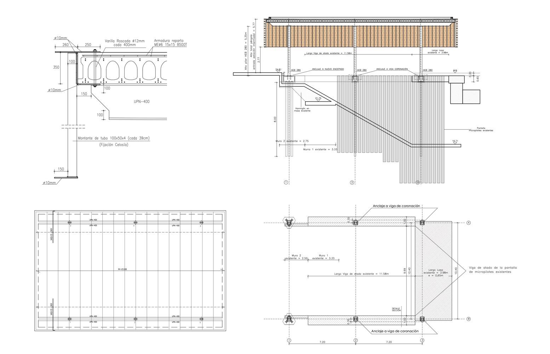 طراحی فضای ورودی ایستگاه راه آهن Palma