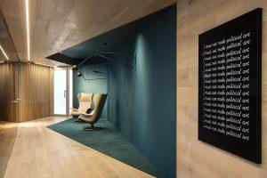 طراحی داخلی دفتر کاری C