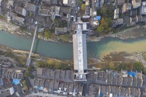 طراحی موزه و گالری هنری Jishou بر روی یک رودخانه!