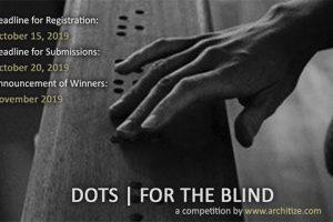 مسابقه بین المللی معماری نقطه ها برای نابینایان