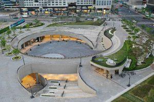 طراحی میدان magok در سئول به سبک مینیمالیسم