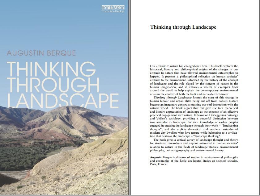 دانلود کتاب Thinking through Landscape