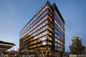 طراحی ساختمان تجاری ده طبقه با اسکلت چوبی در استرالیا