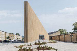 طراحی کتابخانه و مرکز فرهنگی Tingbjerg در کشور دانمارک