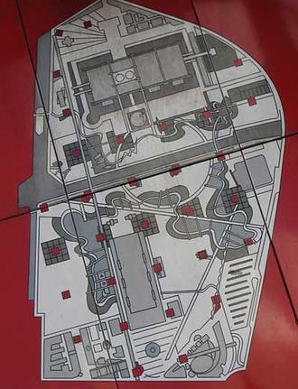 برنارد چومی و پارک دو لاویلت پاریس ؛ سرآغاز معماری دیکانستراکشن