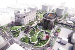 حفظ فضای سبز و اتصال ایستگاه با مرکز شهر در ایستگاه کاوهسیونگ تایوان