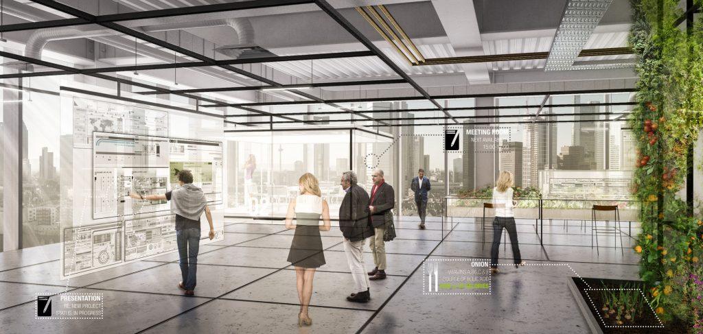 ویژگی های محل کار آینده ؛ حذف پلان باز و گسترش فضای سبز به داخل