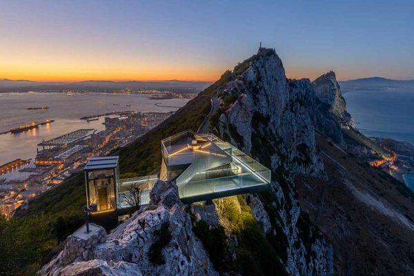 تبدیل سکوی نظامی به محلی برای پیاده راه آسمان جبل الصارق