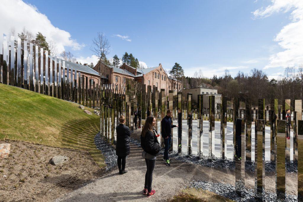 تجربه پیاده روی در اثر هنری راه سکوت نروژ