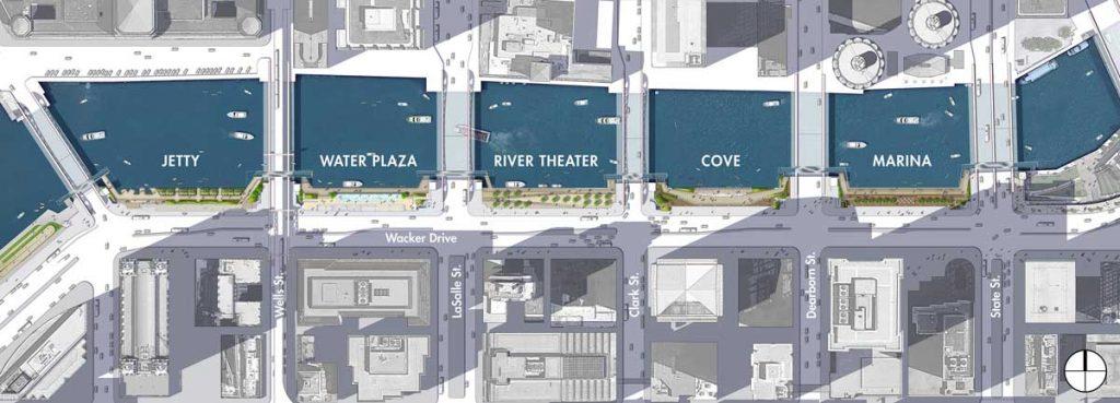 طرح توسعه گذرگاه حاشیه رودخانه شیکاگو با هدف دستیابی دوباره به رودخانه