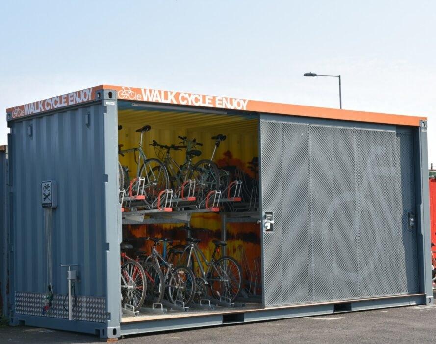 ایده ای ساده و متفاوت برای امنیت دوچرخه های شهر لندن