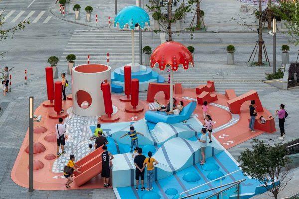 استخر شفاف ؛ یک فضای شهری خلاقانه در شانگهای