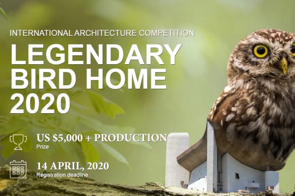 مسابقه بین المللی طراحی خانه پرنده