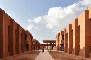 طراحی بومی بیمارستان عمومی نیامی در نیجر