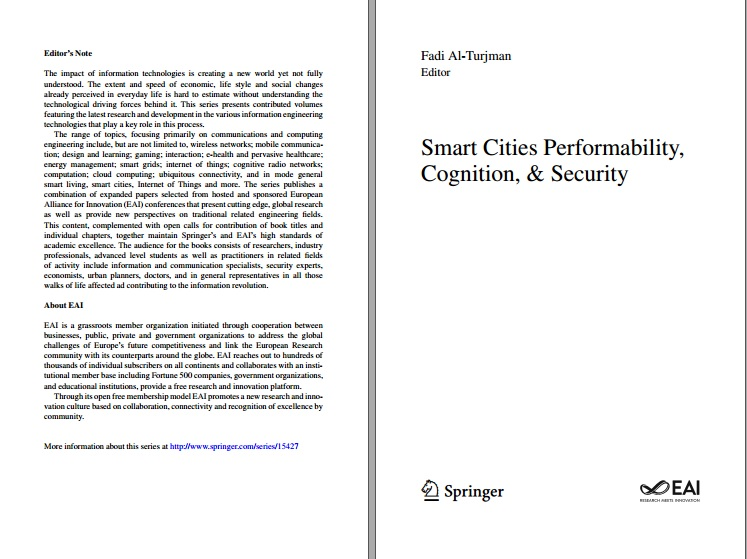 دانلود کتاب Smart Cities Performability, Cognition, & Security