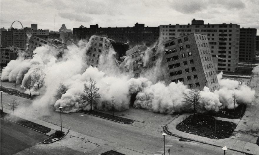 شانزدهم مارس 1972 ؛ تاریخ مرگ معماری مدرن در پروئیت ایگو