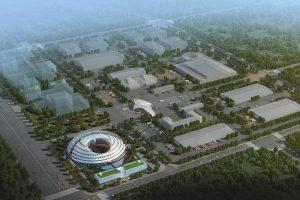 طراحی ساختمان اداری شیان چین توسط مایکل سورکین