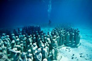 طراحی اولین موزه زیر آب توسط هنرمند انگلیسی