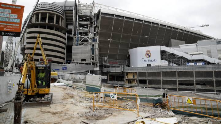 طرح توسعه و بازسازی ورزشگاه سانتیاگو برنابئو مادرید