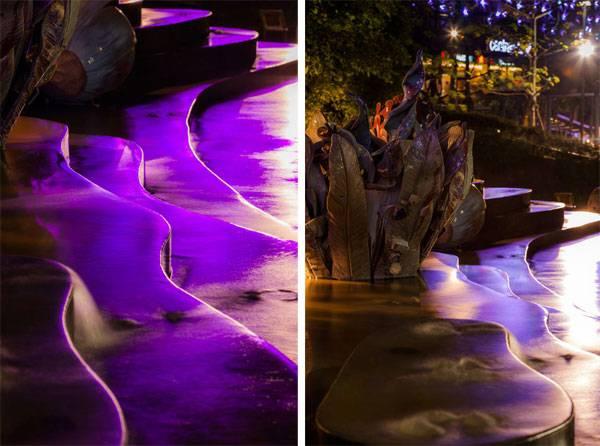 پارک ماندلا آلمر ؛ طراحی بام سبز بر روی پارکینگ